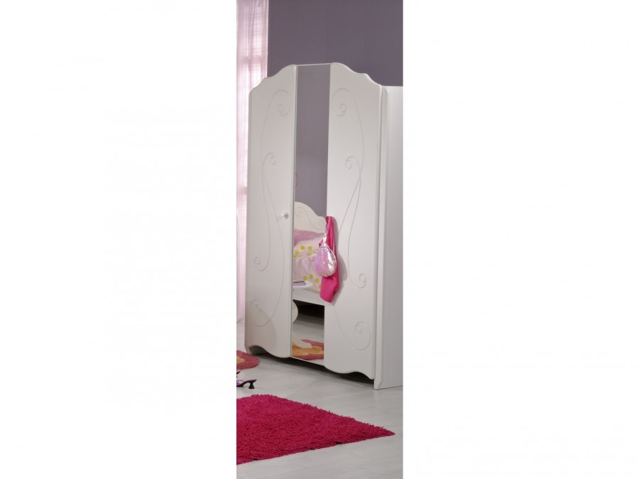 2 t riger kleiderschrank alice wei kinder jugendzimmer komplett sets alice. Black Bedroom Furniture Sets. Home Design Ideas